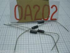 1 x noa202 germanio Diodo 50V 30mA NUOVO VINTAGE NOS componenti elettronici