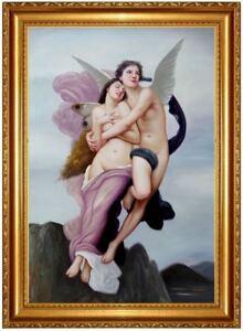 ÖLBILD, Liebespaar, Akte, Nude Erotik Nackt Ölgemälde HANDGEMALT 60x90cm