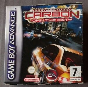 NEED-FOR-SPEED-CARBON-pour-Nintendo-Gameboy-Advance-AGB-P-BN7P-Own-the-City