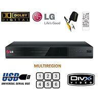 Lg Dp132 Dvd Player With Flexible Usb & Divx Playback,black-brand -multizone