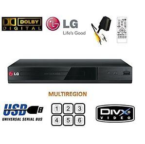 LG DP132 DVD Player