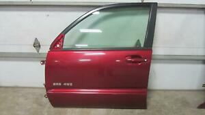 03-05-TOYOTA-4-RUNNER-4RUNNER-Left-Driver-Drivers-Front-Door-Moulding-Salsa-Red