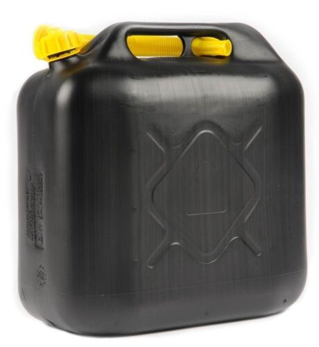 20L  FUEL JERRY PLASTIC CAN PETROL DIESEL WATER 20 LITRE WITH SPOUT FUNNEL