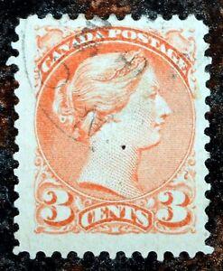 Very-Nice-Canada-1888-Small-Queen-Scott-41-Stamp-J-118