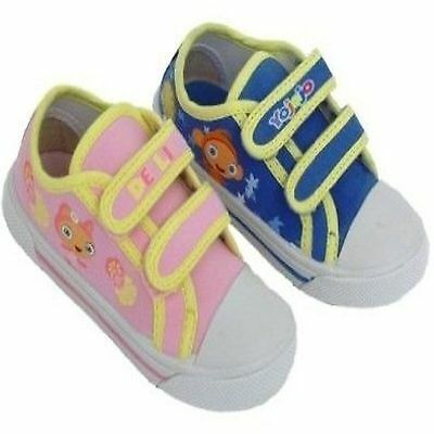 Boys Girls Waybuloo Canvas Trainers Shoe Sizes 4-9 Yojojo De Li