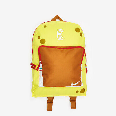 ensillar corte largo Regan  Nike Kyrie X SpongeBob SquarePants Backpack School Bag LTD Edition SOLD OUT  RARE | eBay