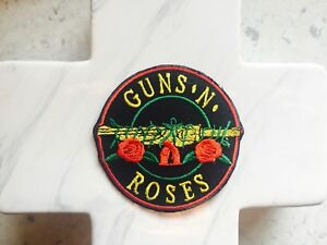Band-Retro-Guns-Roses-Slash-Pop-Rock-Music-Embroidered-Iron-On-Patches-Patch