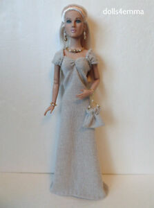 Tonner-TYLER-Doll-Clothes-Shimmery-GOWN-amp-PURSE-amp-JEWELRY-HM-Fashion-NO-DOLL-d4e