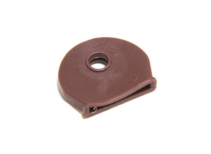 Neuf color brown Clef Housse Capuchon Id Identification Étiquette