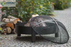 handmade Ø 80cm Korono braciere con protezione scintille