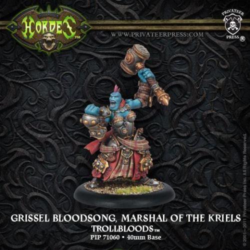 Warmachine Hordes BNIB Trollblood Fell Caller