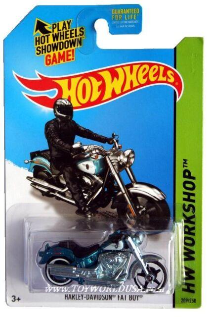 Hot Wheels 2014 Super Treasure Hunt Harley Davidson Fat Boy For Sale Online Ebay