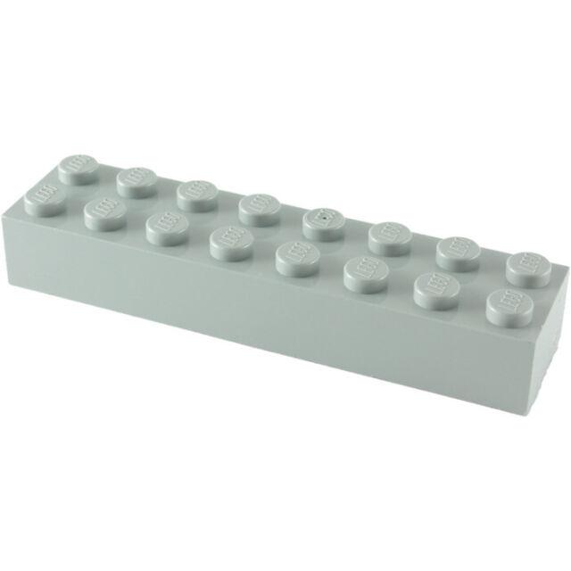 Lot x2 Lego - Brique (gris grey) Brick 2x8 - 6037399 - 93888