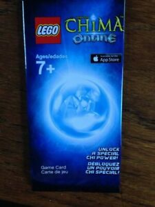 LEGO-Legends-of-Chima-Online-Game-Card-Unlock-a-Special-Chi-Power-Free-S-amp-H