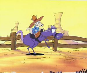 ROCKO-S-MODERN-LIFE-ORIGINAL-1990-S-PAINTED-PRODUCTION-CEL-HORSE