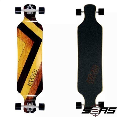 "Atom 39/"" Woody Drop Deck Longboard"