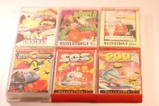 RARE MIX JOB LOT Of  6 Games Commodore 64 C64 128 CASSETTE GAMES