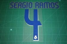 Real Madrid 06/07 #4 SERGIO RAMOS Homekit Nameset Printing