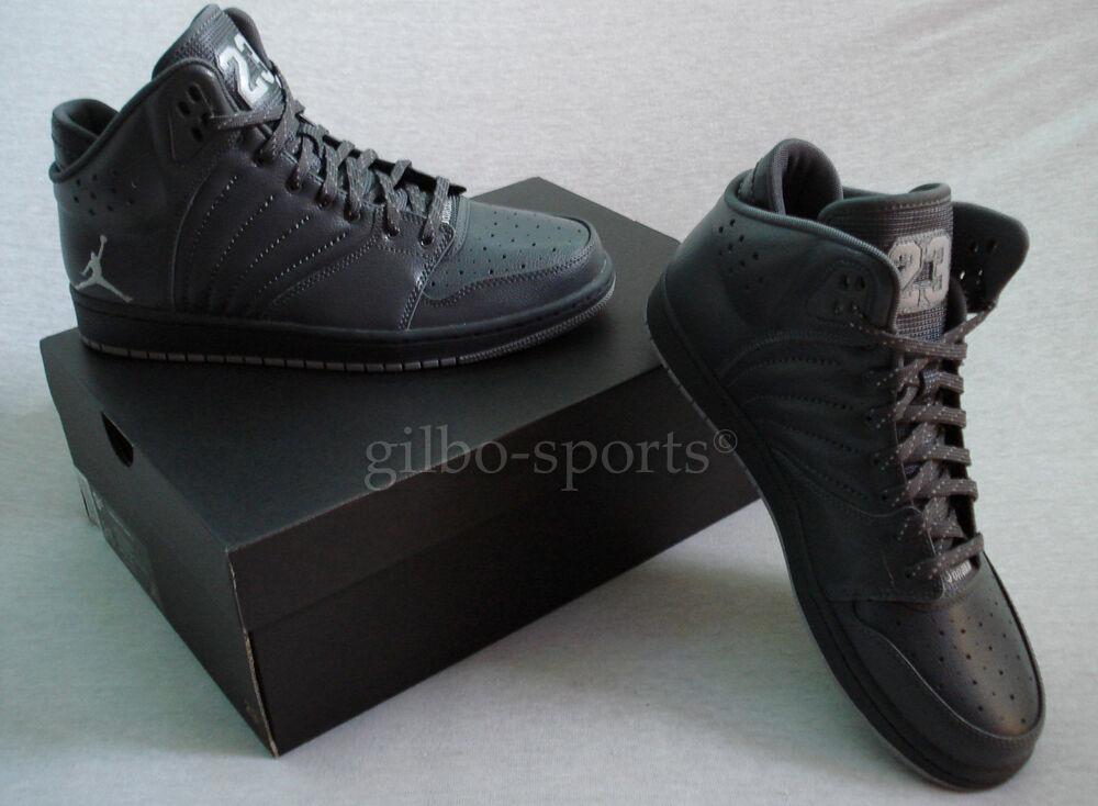 Nike Air Jordan 1 Flight 4 Premium BG Dark Wolf Grey 37,5 38 38,5 Neu 828237 013