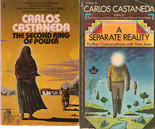 Complete Set Series - Lot of 12 Teachings of Don Juan books by Carlos Castaneda