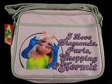 Messenger bag Cross body The Muppets MISS PIGGY Retro flight bag gift Pink New