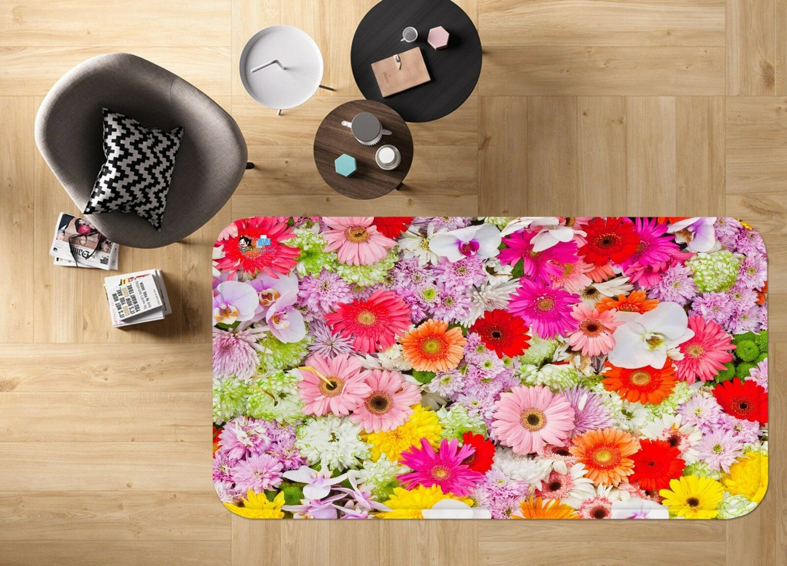 3D Fleurs Pleine Fleur Fleur Fleur 236 Étage Antidérapant Natte Élégant Tapis FR Summer | Spécial Acheter  c00d11