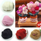 Handmade DIY Toy Craft Wool Needle Felting Top Roving Dyed Spinning Fiber New