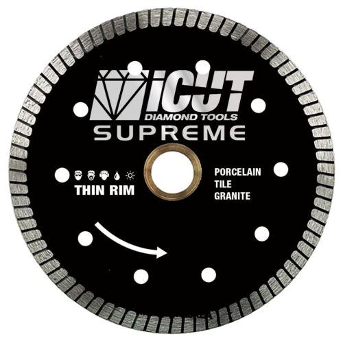 reinforced on both sides Thin rim turbo diamond blade Cuts Tiles