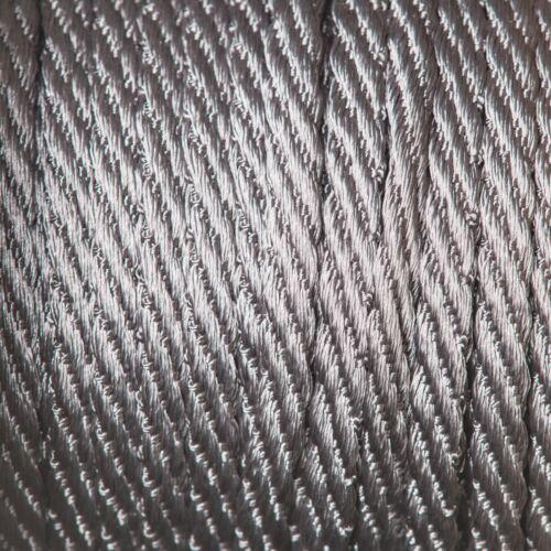 5 mm Cavo a malapena Twist fune da Berisfords rifilatura TRECCIA Bag facendo Tappezzeria