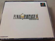 Final Fantasy 9 IX - Playstation Sony PS PSX Japan Free Shipping