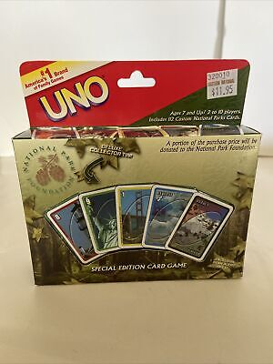 Sababa Uno U S National Park Foundation Special Edition Card Game Tin Complete Ebay