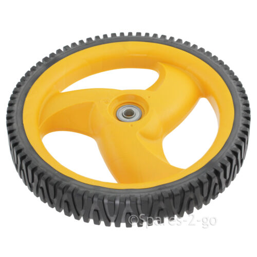 FLYMO Lawnmower Rear Wheel /& Tyre For McCulloch M7053D Genuine Spare Part