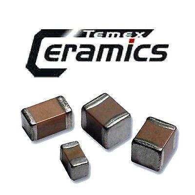 //-0.1pF 500V P100 NOS Temex CHB Series Hi-Q uW ML Capacitor 3.90pF x10pcs