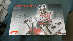 GMP-1-6-Scale-Blown-Ardun-Head-Ford-V8-Engine-Diecast-G0602904-New-In-Box