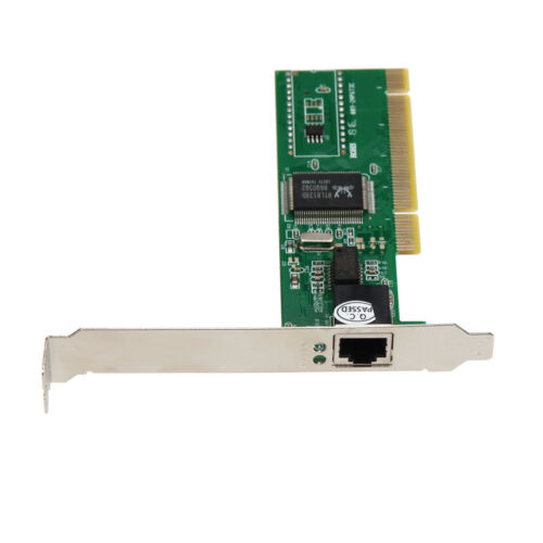 New 10//100 Mbps NIC RJ45 RTL8139D LAN Network PCI Card Adapter for Computer PC