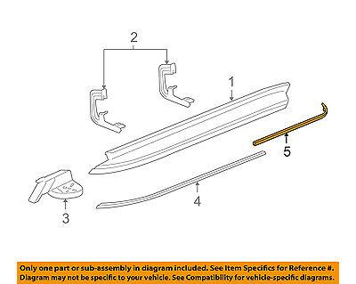 GM OEM Running Board Step-Insert Strip Right 15914683
