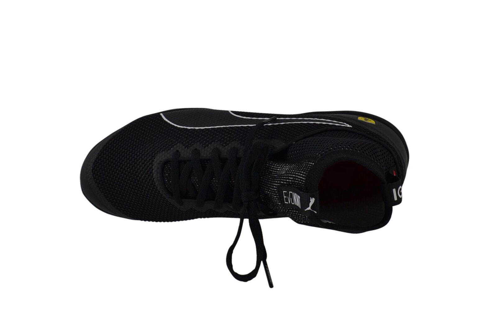 Puma Sf changer Ignite evoknit Black Ferrari Chaussures Sneaker Black evoknit White 305919 02 7358e4