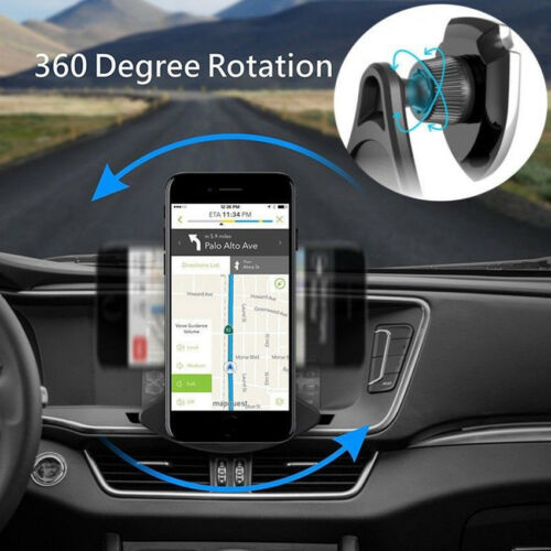 New 360°Rotating Car CD Slot Mount Magnetic Holder Shield Magnet Bracket FR