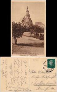 Kamenz Kamjenc Hauptkirche Ansichtskarte Oberlausitz 1930