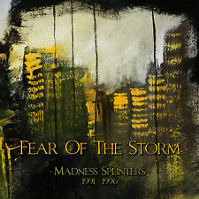 """FEAR OF THE STORM """"Madness Splinters (1991-1996)"""" 3xdigiCD*Gothic Wave (SEALED)"""
