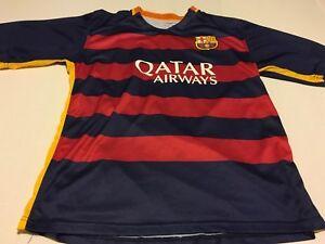 buy popular 005d9 cb2d8 Details about FCB FC BARCELONA #13 SOCCER FUTEBOL REPLICA JERSEY KIT MENS  SIZE (L) BRAVO