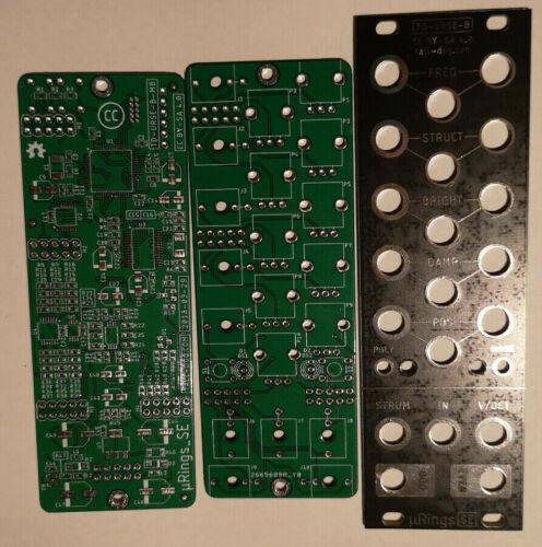 µRings PCB Set mit Fontpanel