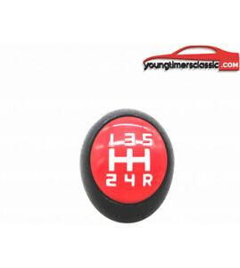 Pommeau-PEUGEOT-205-GTI-tous-modele-aux-choix-Pommeau-pastille-Rouge-5-vitess