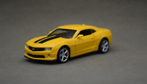 1-43-Alloy-car-model-Chevrolet-komaro-Bumblebee-door-can-open-Collect-gifts