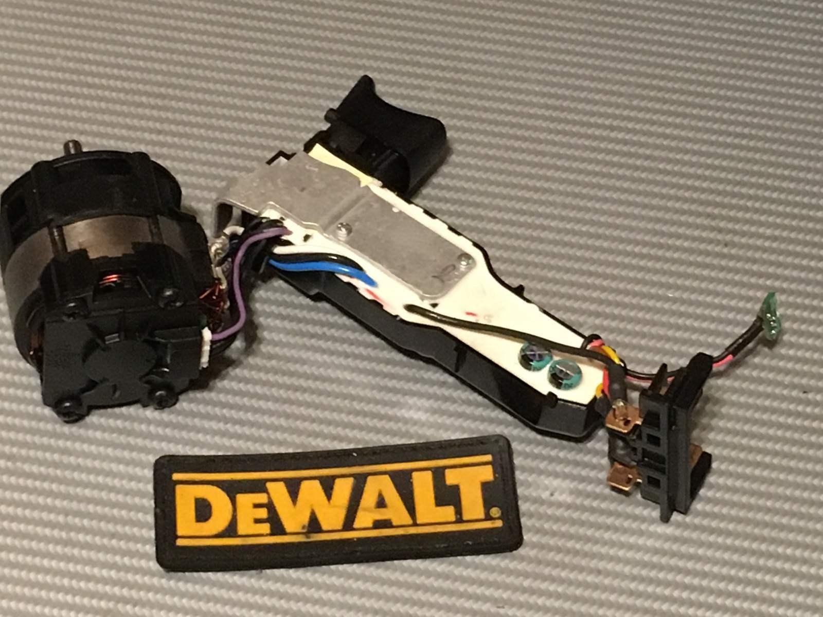 Dewalt XR 20V DCD790, DCD795 Bürstenloser Motor / Schalter Baugruppe, N434174