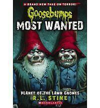Goosebumps Most Wanted #1: Planet of the Lawn Gnomes by Stine, R.L., Good Book