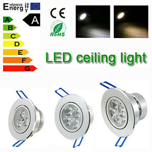 Lots-1-10-20pcs-Dimmable-LED-Recessed-Ceiling-Down-Light-9W-12W-15W-Lamp-amp-driver