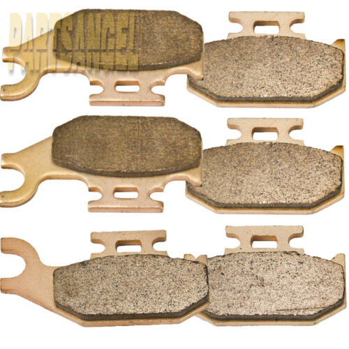 Front Rear Sintered Brake Pads For Bombardier Can Am Renegade 500 800 2007-2011