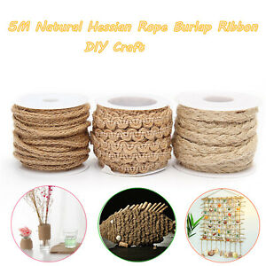 5M-Natural-Hessian-Rope-Burlap-Ribbon-String-Roll-DIY-Craft-Wedding-Party-Decor