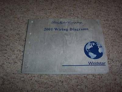 2001 Ford Windstar Electrical Wiring Diagram Manual Cargo ...